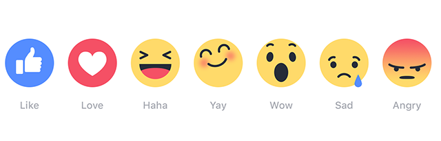 Los nuevos emojis de facebook